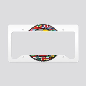 Colombia Flag World Cup No La License Plate Holder
