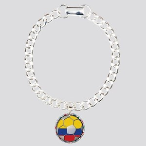 Colombia Flag World Cup No La Charm Bracelet, One