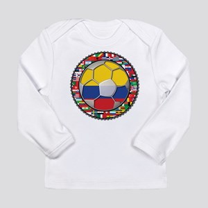 Colombia Flag World Cup No La Long Sleeve Infant T