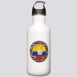 Colombia Flag World Cup No La Stainless Water Bott