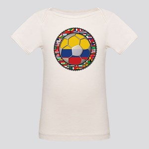 Colombia Flag World Cup No La Organic Baby T-Shirt