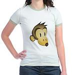 Silly Monkey Jr. Ringer T-Shirt