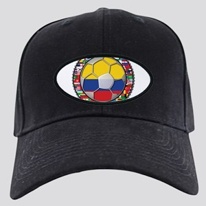 Colombia Flag World Cup No La Black Cap
