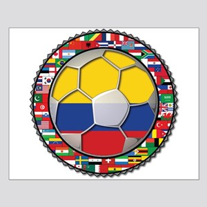 Colombia Flag World Cup No La Small Poster