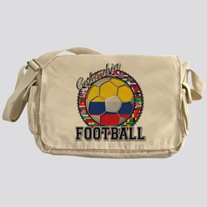 Colombia Flag World Cup Footb Messenger Bag