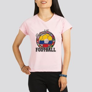 Colombia Flag World Cup Footb Performance Dry T-Sh