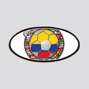 Colombia Flag World Cup Footb Patches