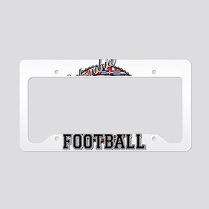 Colombia Flag World Cup Footb License Plate Holder