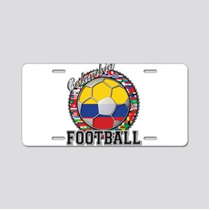Colombia Flag World Cup Footb Aluminum License Pla