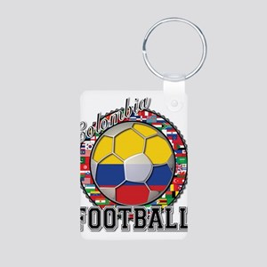 Colombia Flag World Cup Footb Aluminum Photo Keych