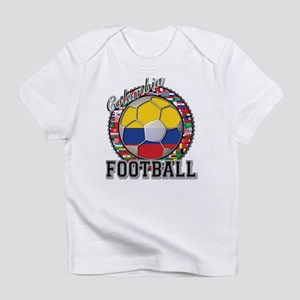 Colombia Flag World Cup Footb Infant T-Shirt