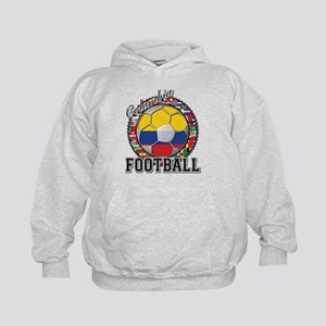 Colombia Flag World Cup Footb Kids Hoodie