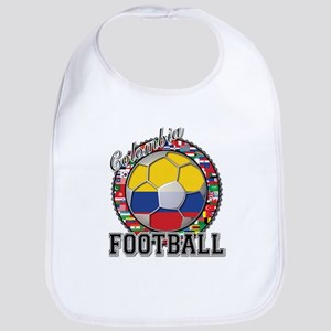Colombia Flag World Cup Footb Bib