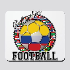 Colombia Flag World Cup Footb Mousepad
