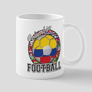 Colombia Flag World Cup Footb Mug