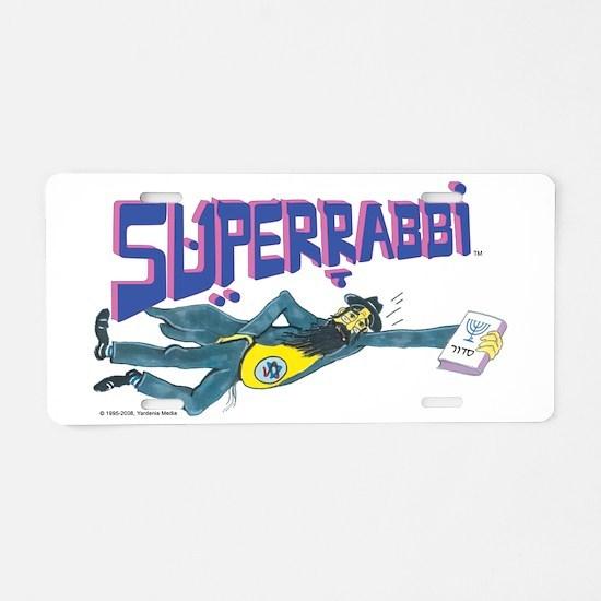 SUPERRABBi Aluminum License Plate