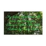 What She Left Behind Quote Wall Decal