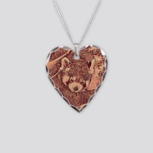 RedPanda_20170601_by_JAMColor Necklace Heart Charm
