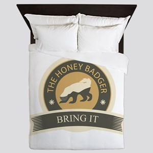 Honey Badger Bring It Queen Duvet