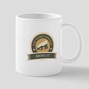 Honey Badger Bring It Mug