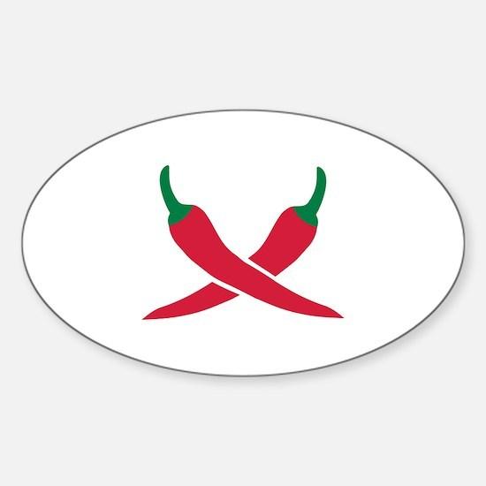 Chili Sticker (Oval)