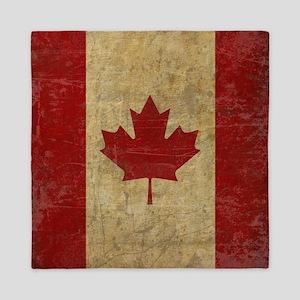 Vintage Canada Queen Duvet