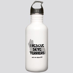 I RESCUE Skye Terriers Stainless Water Bottle 1.0L
