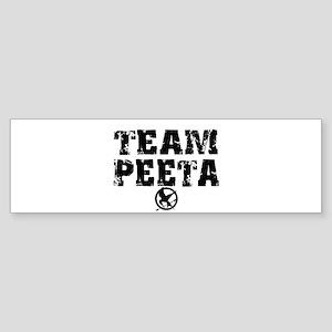 Team Peeta (distress) Sticker (Bumper)