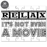 Relax: It's Not EVEN a Movie! Puzzle