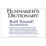 Film Dctnry: Roll Sound! Large Poster
