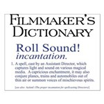 Film Dctnry: Roll Sound! Small Poster