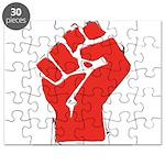 Raised Fist Puzzle