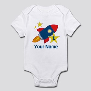 1st Birthday Rocket Infant Bodysuit