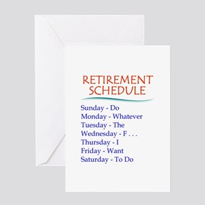 Mens greeting cards cafepress retirement schedule greeting cards m4hsunfo
