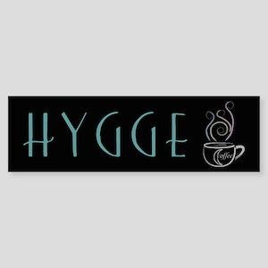 Hygge Coffee Bumper Sticker
