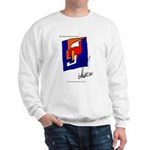 The Cubist Man or The Cube.... Sweatshirt