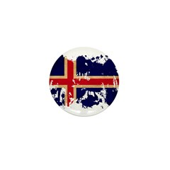 Iceland Flag Mini Button (100 pack)