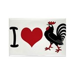 I Heart Cock Rectangle Magnet (100 pack)