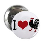 "I Heart Cock 2.25"" Button (100 pack)"