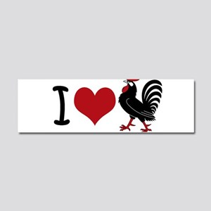 I Heart Cock Car Magnet 10 x 3