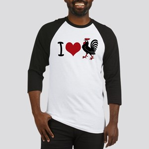 I Heart Cock Baseball Jersey