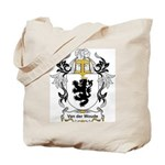 Van der Woude Coat of Arms Tote Bag