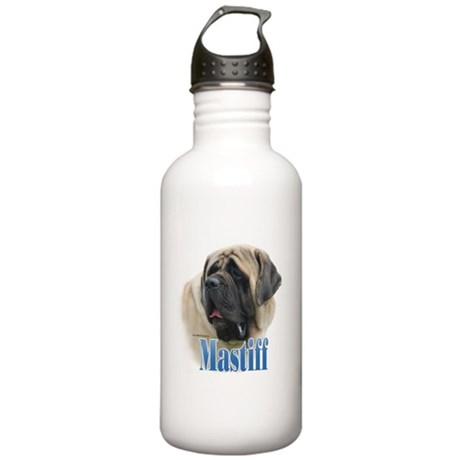 Mastiff(fawn)Name Stainless Water Bottle 1.0L