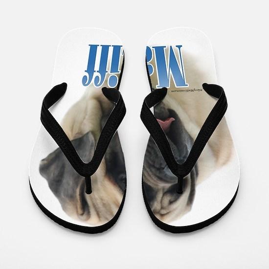 Mastiff(fawn)Name Flip Flops