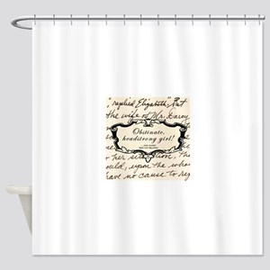 Elizabeth Bennett Shower Curtain