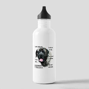 Mastiff(brindle)FAQ Stainless Water Bottle 1.0L