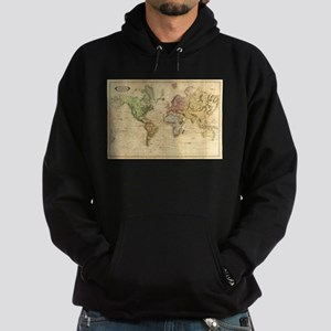 Vintage Map of The World (1831) Sweatshirt