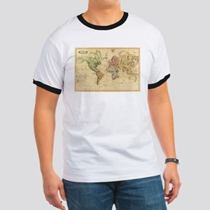 Vintage Map of The World (1831) T-Shirt