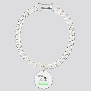 Live the gates open Charm Bracelet, One Charm