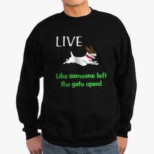 Live the gates open Sweatshirt (dark)